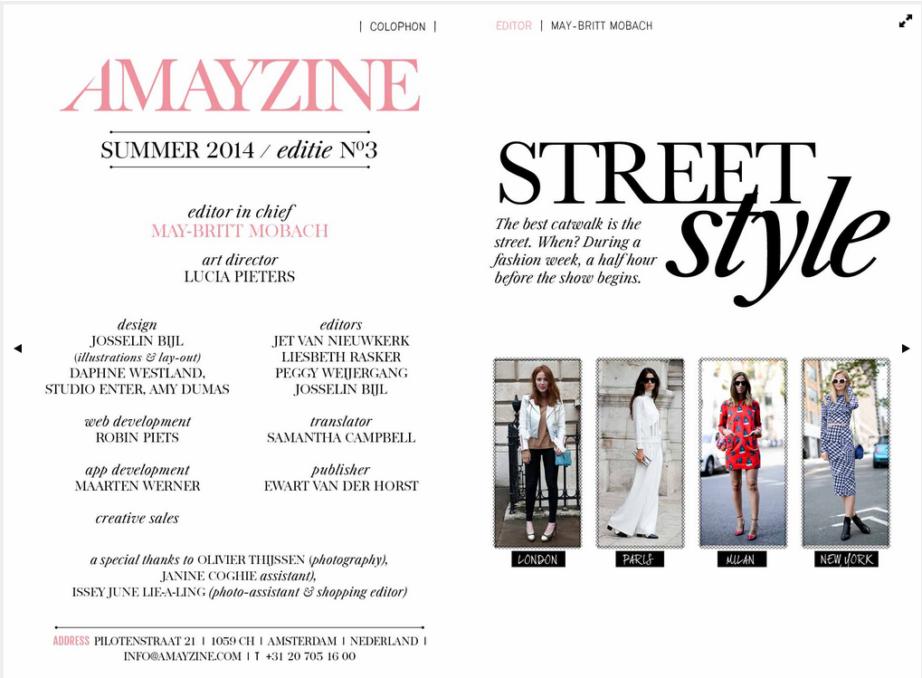 Amayzine digital mag